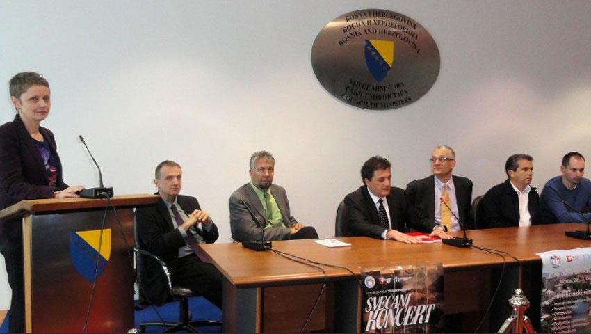 Konferencija Za štampu U Parlamentarnoj Skupštini BiH