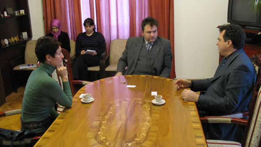 Posjeta Univerzitetu U Sarajevu