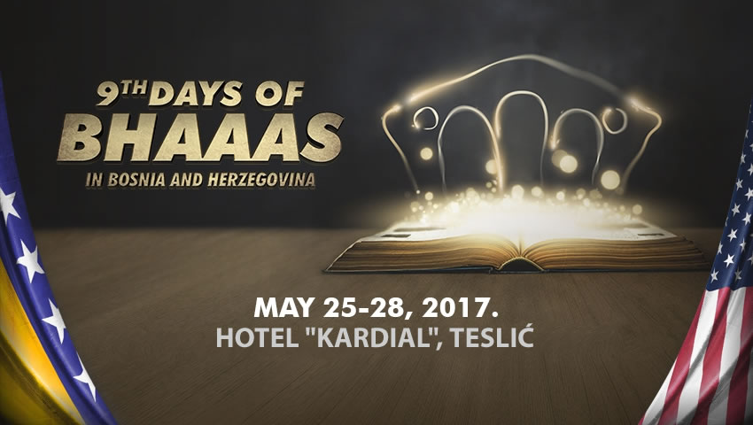 Program –  9th Days Of BHAAAS In Bosnia And Herzegovina