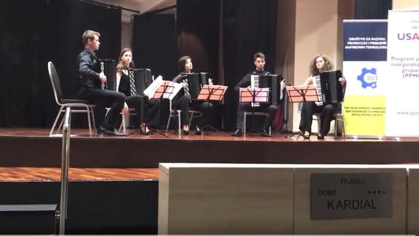 Koncert ACCORDEUS, Banja Vrucica, 25.05.2017.