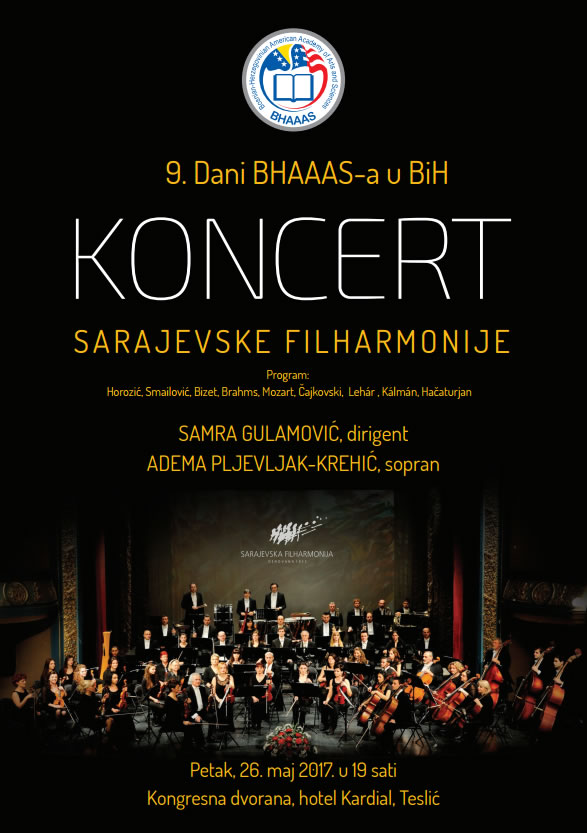 Koncert sarajevske filharmonije Teslic