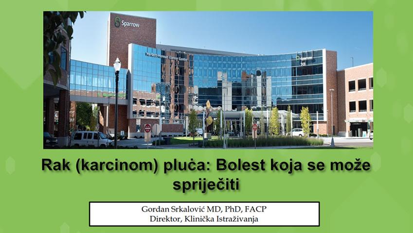 Održano Predavanje Prof. Dr. Sci. Gordana Srkalovića