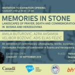 "Invitation To Exhibition Opening ""Memories In Stone"""