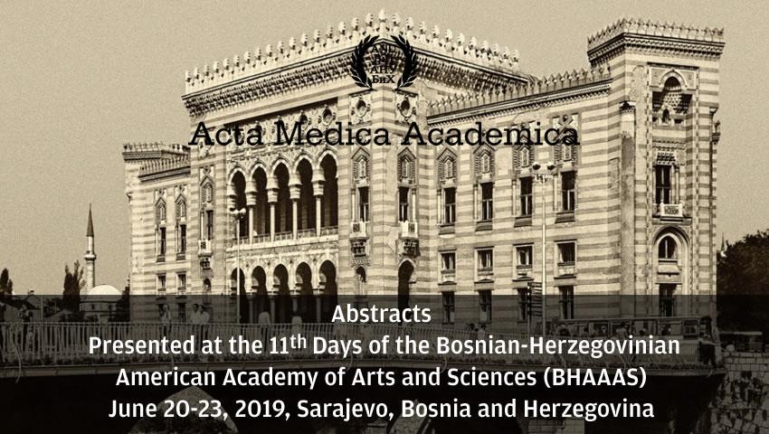 Abstracts BHAAAS Sarajevo 2019