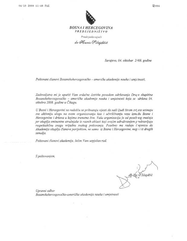 dr-silajdzic-letter