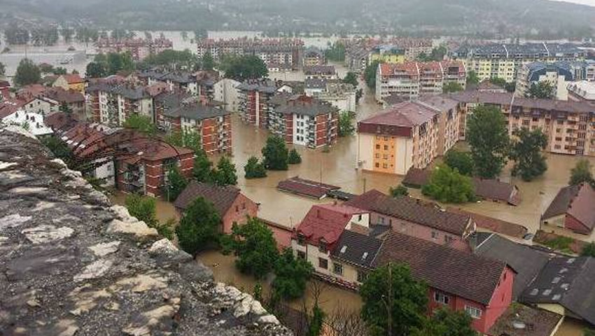 Donations For Flood Relief In Bosnia-Herzegovina