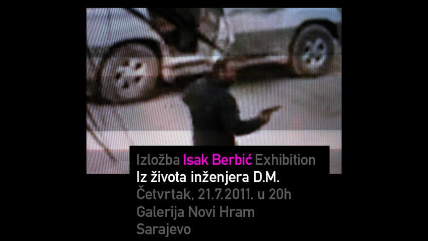 Isak-Berbic_pozivnica-izlozba-sarajevo
