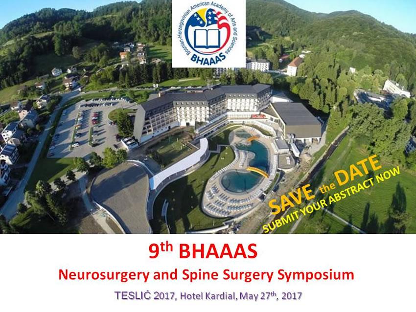 BHAAAS Neurosurgery Simposium TESLIC 2017-