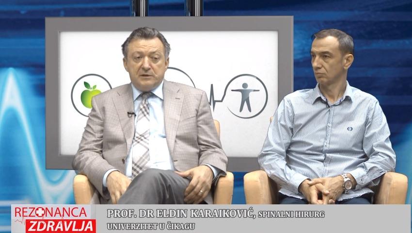 """Tema Emisije """"Rezonanca Zdravlja"""" – Hirurgija Kičme"""