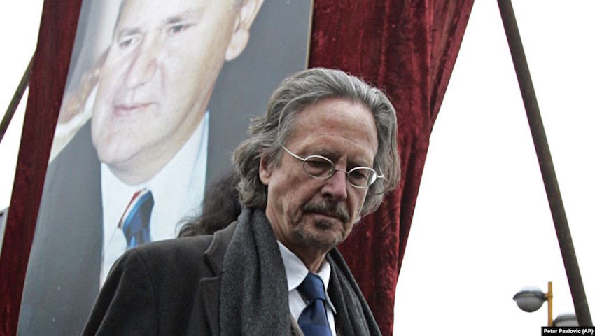 BHAAAS Issues The Statement Condemning The Choice Of Peter Handke For The 2019 Nobel Prize In Literature
