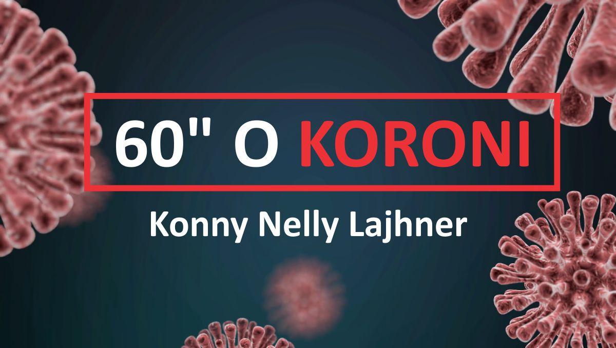 Konny Nelly Lajhner 60 sekundi o koroni