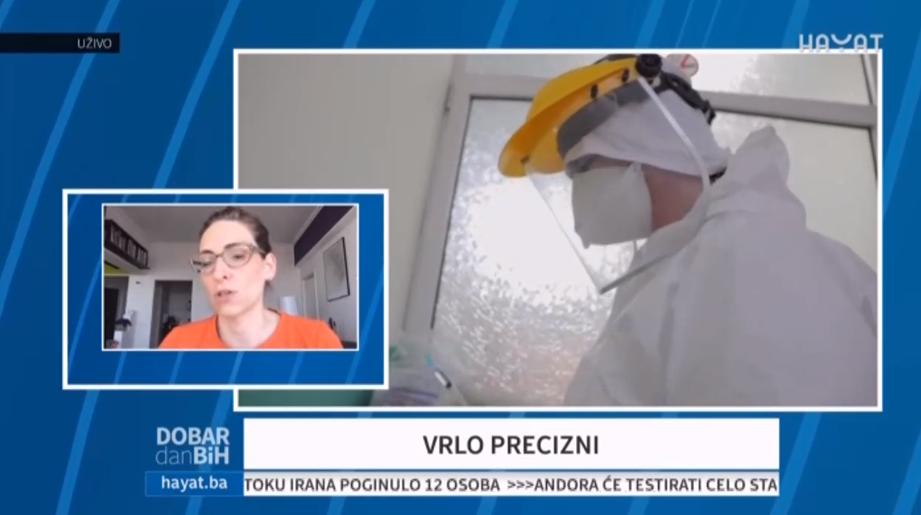 Ljiljana Djukanovic - testovi za koronavirus vrlo precizni