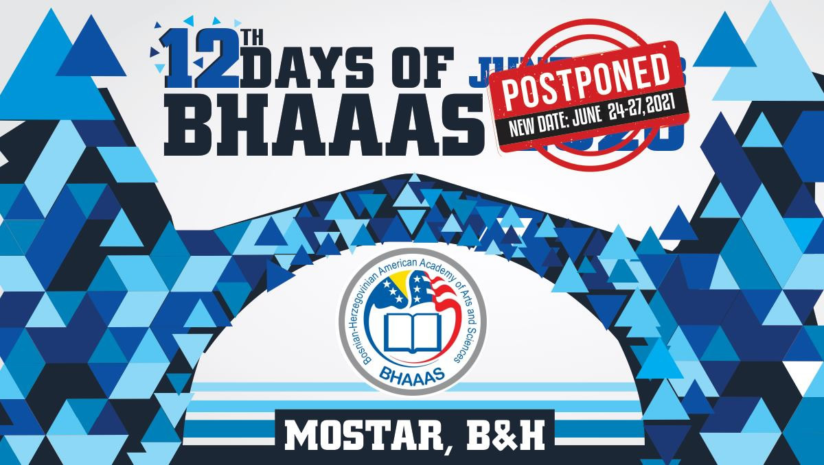 Postponing 12 Days BHAAAS In BiH-