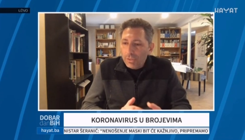 Profesor Dr Ismar Volic - Koronavirus U Brojevima