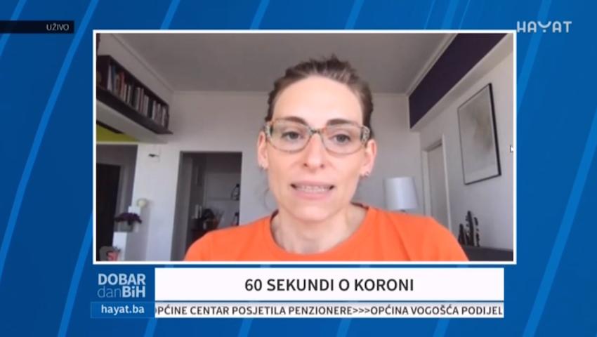 Ljiljana Djukanovic-testovi Za Koronavirus