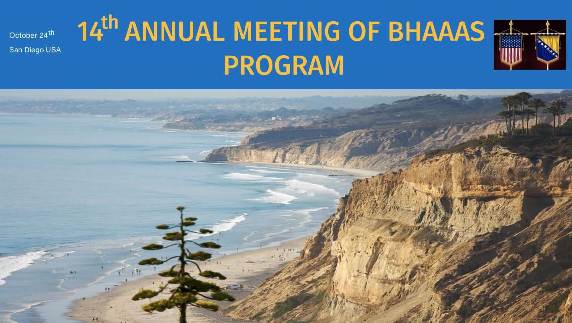 BHAAAS Annual Meeting 2020 – Program