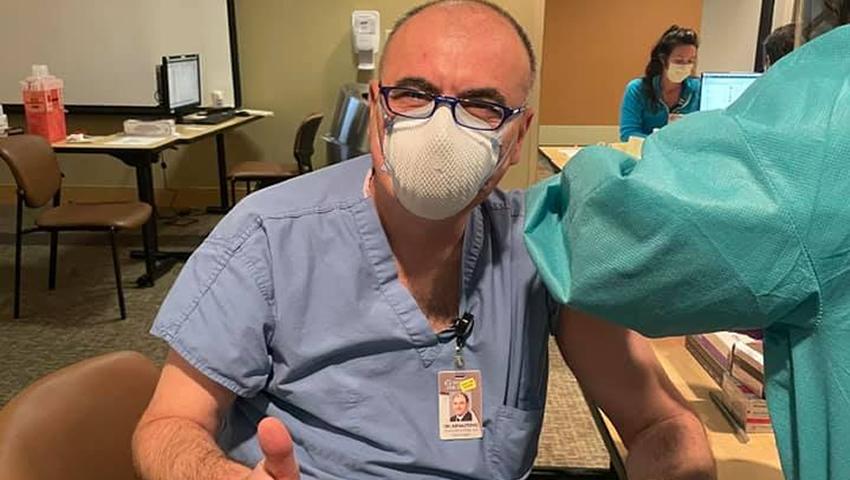 Neurohirurg Iz Sarajeva Primio Pfizerovu Vakcinu: Alternativa Je Smrt